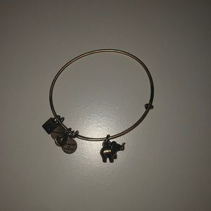 Alex and ani elephant gold bracelet!